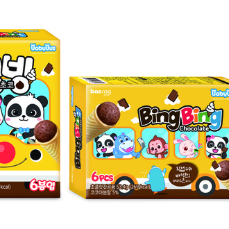 BabyBus Ice cone snack Chocolate flavor