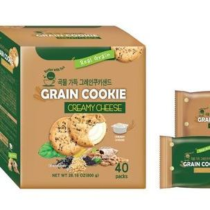PB_Grain cookie sand Creamy cheese_family pack 800g