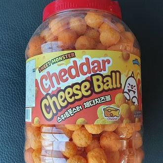 Sweet Monster Cheddar Cheese Ball