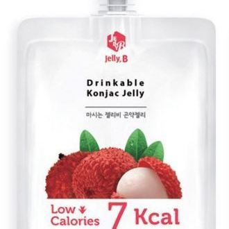 Drinkable Konjac Jelly Drink lychee_ Pouch pack 150ml
