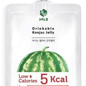 Drinkable Konjac Jelly Drink watermelon_ Pouch pack 150ml