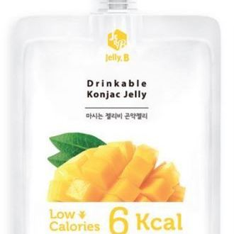 Drinkable Konjac Jelly Drink mango_ Pouch pack 150ml